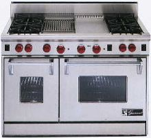 "48"" Stainless with 11"" griddle and 11"" Char Broiler"