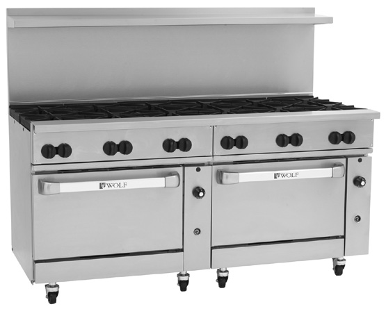 Challenger XL 72 inch with 12 burners
