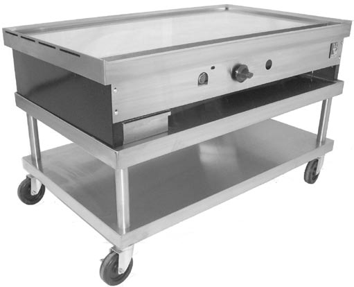 Teppanyaki Griddle on Stand by Wolf